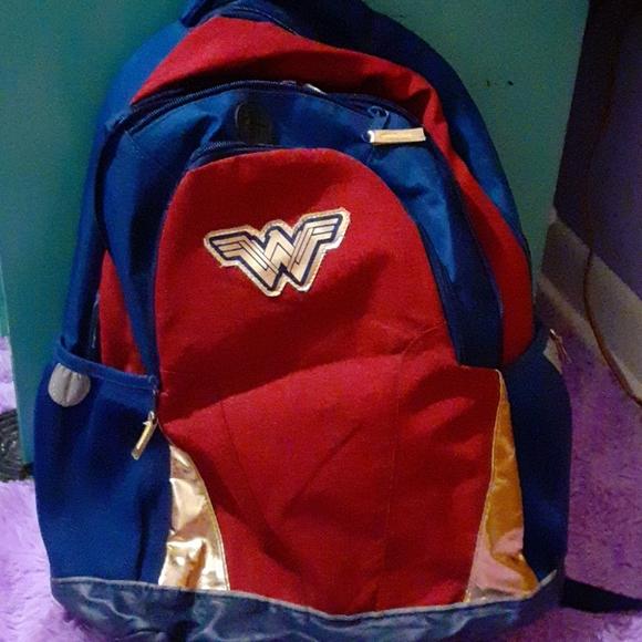 Wonder Woman Backpack Back To School DC Comics